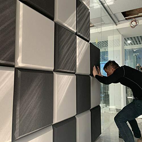 10 Piezas 20x20x2 Pulgadas Studio Acoustic Tiles Wall Azulejos de Panel de Espuma insonorizados Pad de Tablero Cuadrado (Color : Purple, Size : 10 pcs 50x50x5CM)