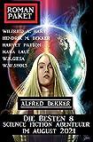 Roman-Paket Die besten 8 Science Fiction Abenteuer im August 2021