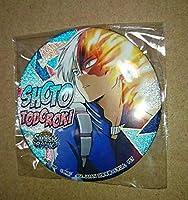 僕のヒーローアカデミア 轟焦凍 namco池袋店 グリッター 缶バッジ ~SMASH RISING~