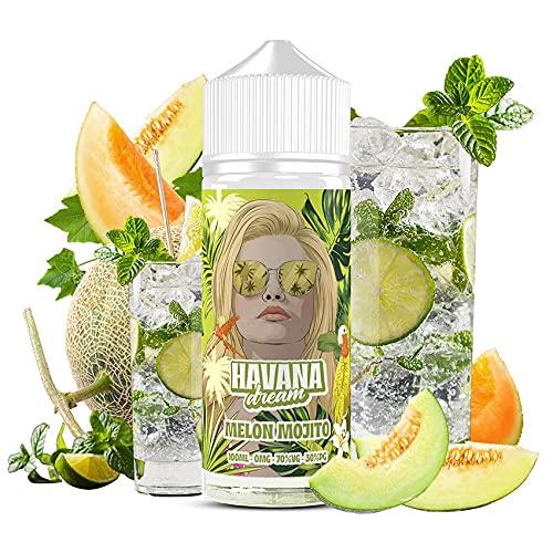 E-Liquid MELON MOJITO   100ML TPD   HAVANA DREAM MELON MOJITO   Sin Nicotina: 0MG   E-Liquido para...
