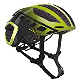 SCOTT 275183 Casco para Bicicleta, Unisex Adulto, Yel/DK gr, L