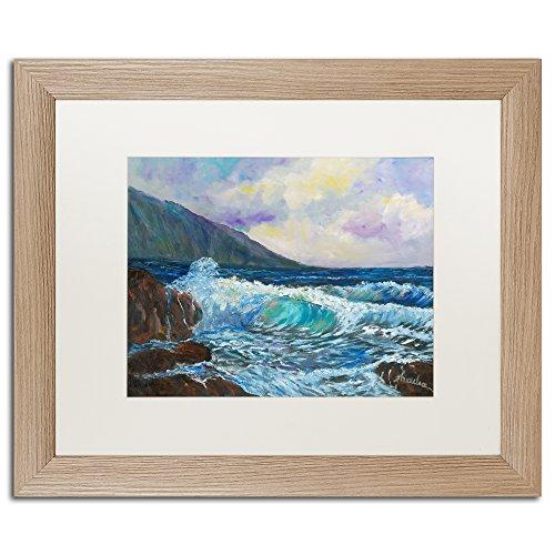 Maui's Enchanting Seas by Manor Shadian Bilderrahmen, Birkenholz, matt, 40,6 x 50,8 cm, Weiß