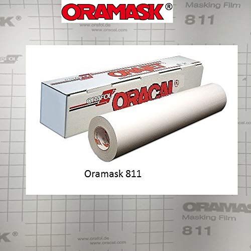 Greenstar ORAMASK 811 Paint/Spray Mask Stencil Film, Removable Adhesive - 24