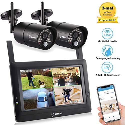 Sequro GuadrPro DIY überwachungssystem mit 7
