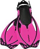 AQUAZON Sidney Verstellbare Flossen für Kinder und Jugendliche, Farbe:pink, Größe:32/37