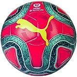 PUMA Laliga 1 Hybrid Balón de Fútbol, Unisex Adulto, Rosa (Pink Alert-Yellow Alert-Green Glimmer), 5