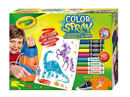 CRAYOLA Color Spray TV 04-8738, Multicolore