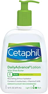 Cetaphil DailyAdvance Ultra Hydrating Lotion for Dry/Sensitive Skin 16 oz ( Pack of 3)