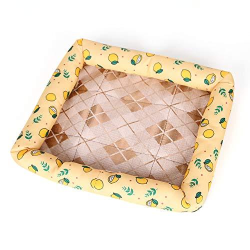 Nobranded Summer Pet Mat Hundebett Ice Pad Waschbare Katzen- und Hundehütte Sofa Pet Cushion Matratze Pet Supplies XL 67X57Cm 3