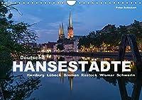 Deutsche Hansestaedte (Wandkalender 2022 DIN A4 quer): Die grossen deutschen Hansestaedte von Bremen bis Stralsund (Monatskalender, 14 Seiten )