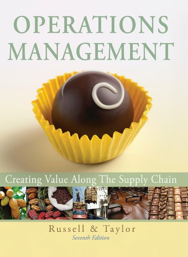 Operations Management: Creating Value Along the Supply...