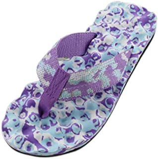 5916b8c01 Amazon.com  Purple - Flip-Flops   Sandals  Clothing