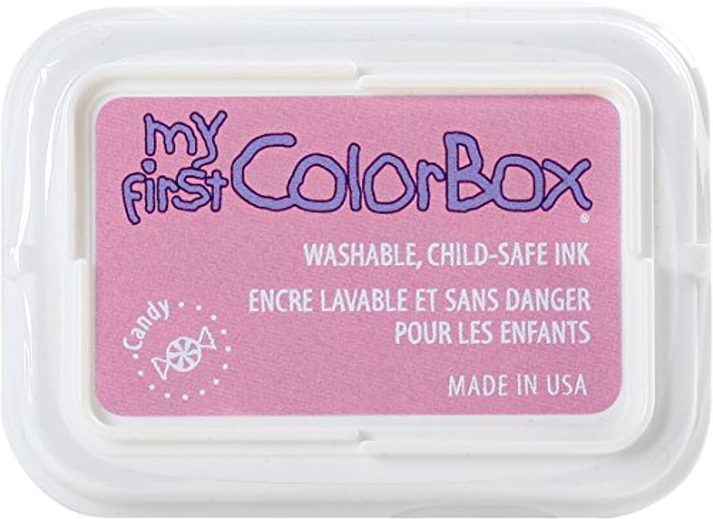 ColorBox 68052 My First Single Inkpads, Candy