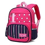 Wind Took Kinderrucksack Mini Backpack Kinder Schulrucksack Kindergartentasche Kleiner Tagesrucksack für Mädchen Jungen, Rose