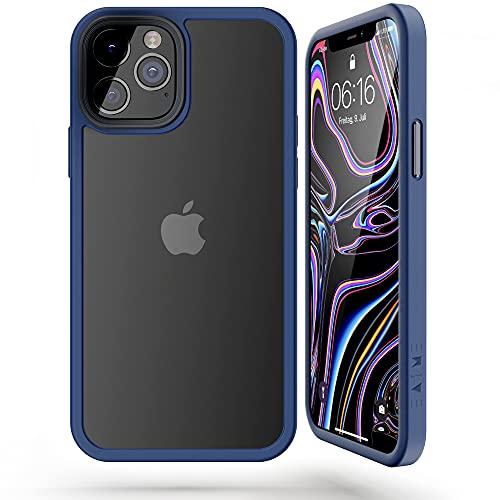 EAIME® AIM Premium für iPhone 12 hülle/iPhone 12 pro hülle - Extrem Stoßfeste Kratzfeste iPhone 12 hülle Transparent - Kompatible handyhülle iPhone 12/12 Pro in top Qualität