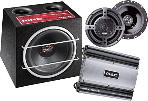 Mac Audio Xtreme 4000.2 Car-HiFi-Set