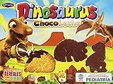 Dinosaurus - ChocoLeche - Galleta de cereales con chocolate con leche - 8 paquetes