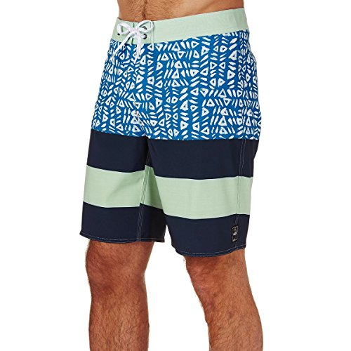 Vans Herren ERA Boardshort Badehose, Blau (Dress Blues (PVW) L0Z), Large (Herstellergröße: 36)