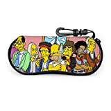 632 Eyeglass Case,Funny The Simpsons Eye Glasses Bag, Cajas De Gafas Suaves Para Ocasiones De Aniversario,17x8cm