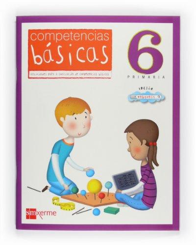 Competencias básicas. 6 Primaria [Gallego] - 9788498542110