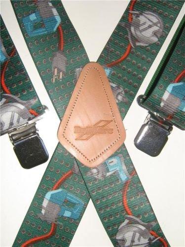 Homme Bretelles Power Tool Design Brimarc Heavy Duty pour homme, largeur 50 mm, couleur Instruments