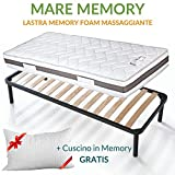 <span class='highlight'>Evergreenweb</span> Orthopaedic Bed Frame with Slatted Frame/Fully Iron Support/Suitable for All Types of <span class='highlight'>Beds</span> and Mattresses/Apple 80 x 195 cm Rete   Materasso Memory   Cuscini