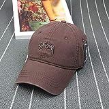 Gorra de béisbol de Moda Coreana Gorras para Hombres y Mujeres Gorra Deportiva de Hip-Hop de Moda Sombrero para el Sol al Aire Libre
