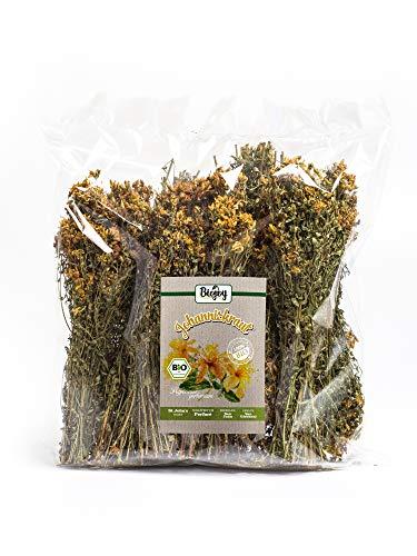 Biojoy Hierba de San Juan (Hiperico) BÍO, tallos y flores enteros secos de Hypericum perforatum (250 g)