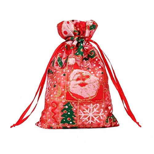 Yuson Girl 10x15cm Sacchetti Regalo in Organza Bustine Colorati Buste Favore Nozze Bomboniere per Matrimonio Festa Gioielli per Natale Festa Laurea Battesimo Compleanno