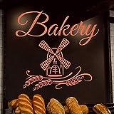 Applique Make-Up Artpastries Bäckerei Brot Gebäck Kuchen Kekse Lebensmittel Wandtattoo Fensteraufkleber Handmade 42X44Cm