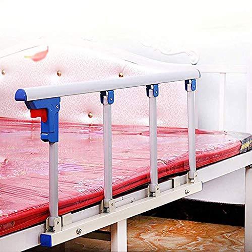 LAMZH Barandilla cama adulto Individual/Personas Mayores Barandilla de La Cama Plegables Barandilla Protección Lateral Para Riel Cama Para Ancianos, Adultos Seguridad Barandilla Barra Lateral Segurida