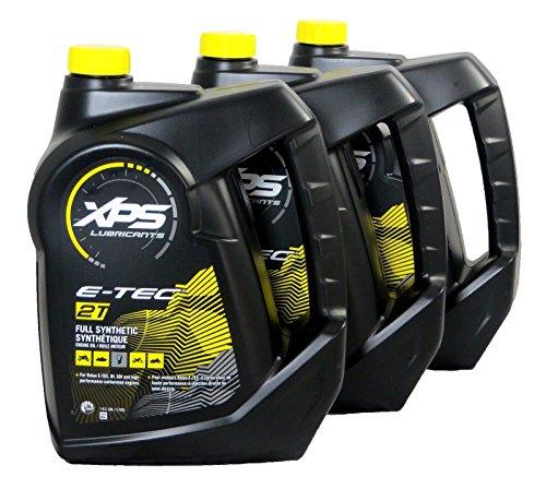 Sea-Doo/Ski-Doo XPS 2 Stroke Synthetic Oil Gallon 3 Pack