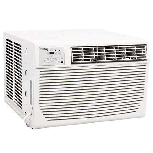Koldfront WAC12001W 12,000 BTU 208/230V Heat/Cool Window Air Conditioner