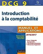 DCG 9 - Introduction à la comptabilité 2016/2017 - 8e éd. - Manuel et applications de Charlotte Disle