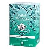 Infusion Cranberry Hibiscus & Baie d'eglantier Bio - English Tea Shop - 20 Sachets - 40g
