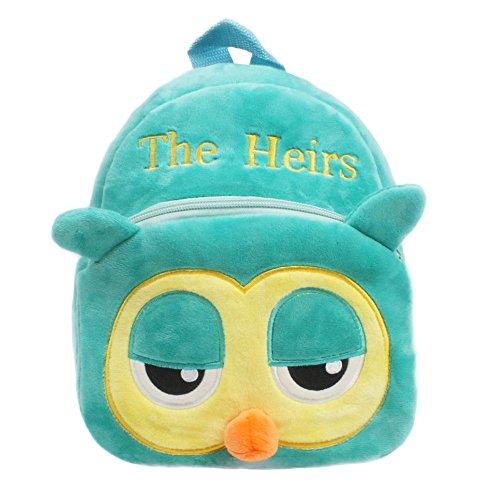 FORH Rucksack Kinder Schultasche Kinderrucksack mit Sicherheitsleinen Kinderrucksack Kindergarten Niedlichen Cartoon Tier Bag (E)