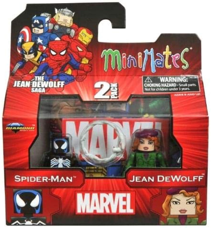 Marvel Minimates Series 43 The Jean Dewolff Saga Spider-Man & Jean Dewolff