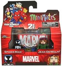 Marvel MiniMates Series 43 Mini Figure 2Pack SpiderMan Jean DeWolff
