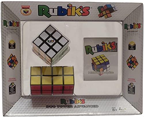 Wingames-Duo Tower Rompecabezas 6 Colores del Cubo de Rubik 765