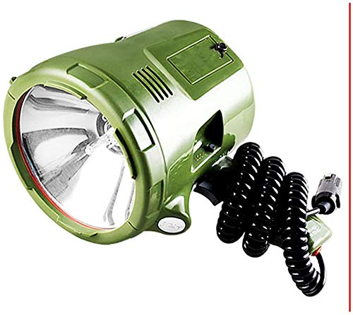 Nologo Haute qualité 220W Marine réflecteur 160W Projecteur caché 12V100W Lampe Xenon 35W / 55W / 65W / 75W Portable Projecteur for la Chasse Voiture Camping Lampe de Poche Navire (Size : 100W)