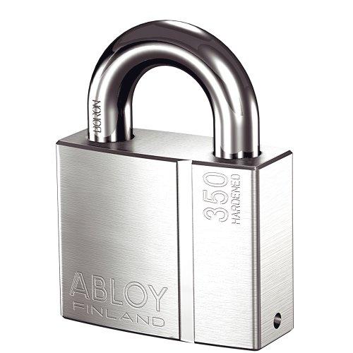 共栄工業 ABLOY プロテック仕様 南京錠 PADLOCK PL350N/25 クロームメッキ仕上げ