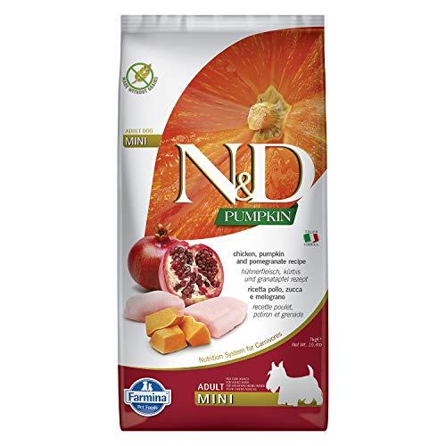 Farmina Natural Y Delicious - Farmina Natural & Delicious Calabaza Adulto Mini Pollo Y Granada, 7 Kg