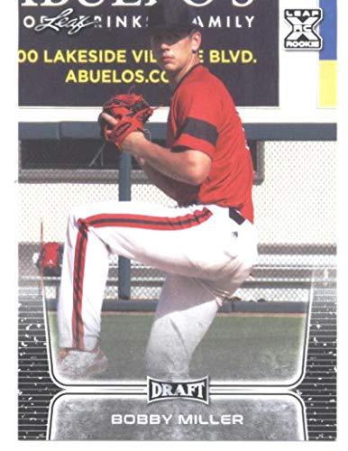 2020 Leaf Draft #16 Bobby Miller Los Angeles Dodgers (1st Leaf Card) MLB Baseball Card (RC - Rookie Card) NM-MT