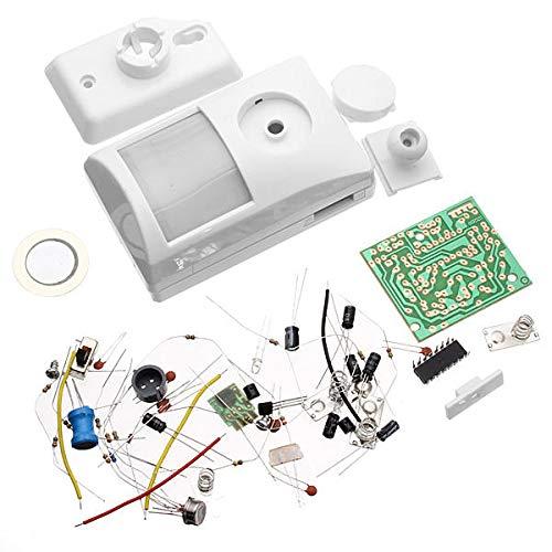 KASILU Dlb0109 Kit de Alarma electrónico infrarrojo Kit de Aprendizaje electrónico Alto Rendimiento
