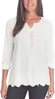 cotton peasant blouse plus size