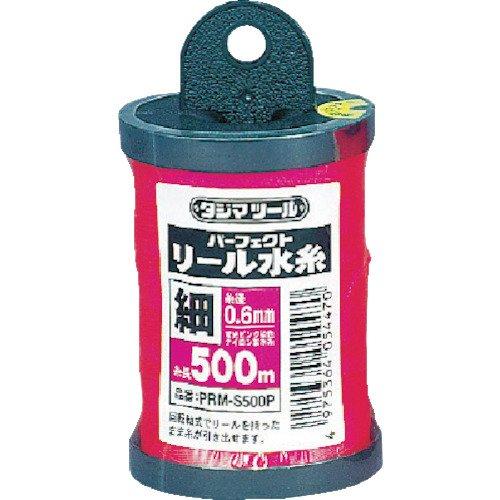 タジマ(Tajima) パーフェクト リール水糸 蛍光ピンク 細0.6mm 長さ500m PRM-S500P