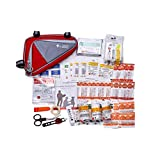 JOAN'S Bike Kits: Bicycle Classic First aid kit. 40 Pieces,Light Weight Bike Accessories for Adult Bikes.Cycling First aid Supplies with a Safety Bike Light(Batteries not Included)