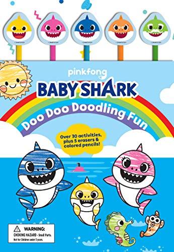 Pinkfong Baby Shark: Doo Doo Doodling Fun (Pencil Toppers)