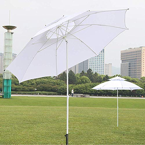 YLJYJ Sombrilla al Aire Libre Sombrilla de jardín con manivela y función de inclinación Parasol de Playa para sombrillas de Patio/Playa/Piscina (Silla)