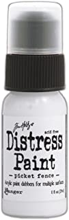 Ranger Tim Holtz Distress Paint Bottle, 1-Ounce, Picket Fence